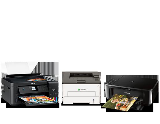 Printers, Scanners, Ink & Toner
