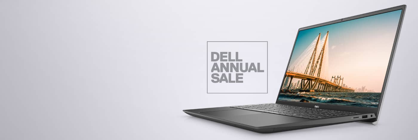 Annual Sale: Up to 40% Off selected Vostro laptops.