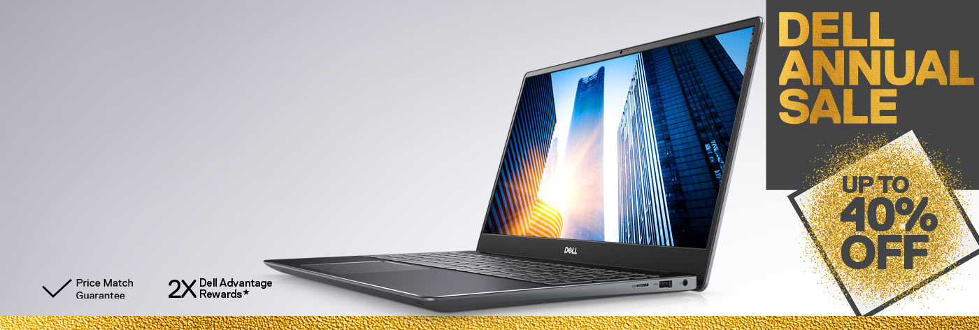 Dell Annual Sale: Up to 40% off selected business laptops.