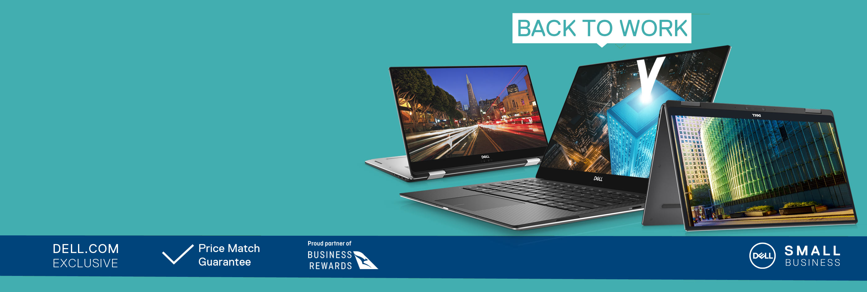 Up to 20% off selected XPS business laptops.
