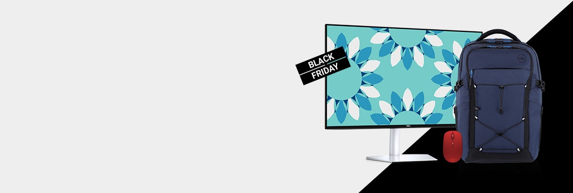 Black Friday starts now for monitors & accessories