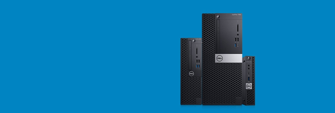 Meet the new OptiPlex desktops
