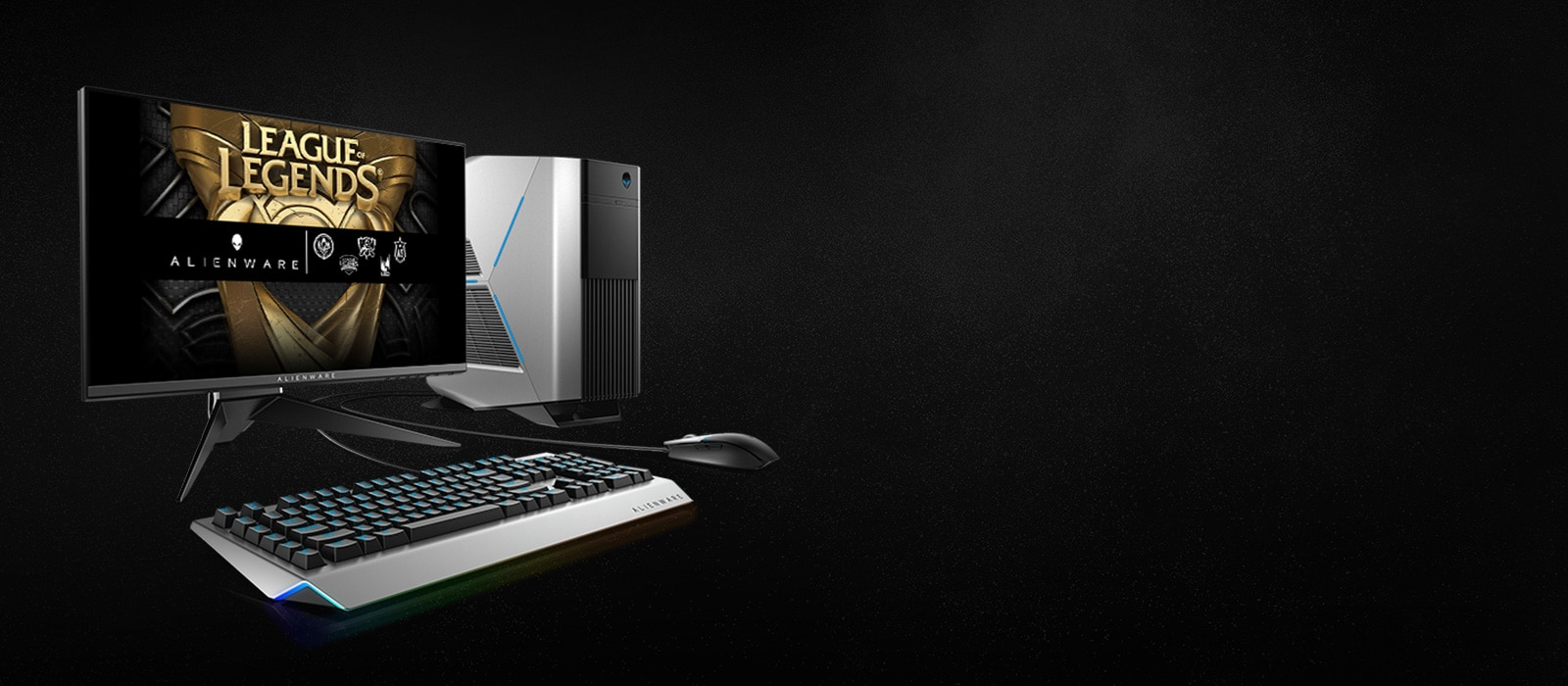 Alienware Homepage
