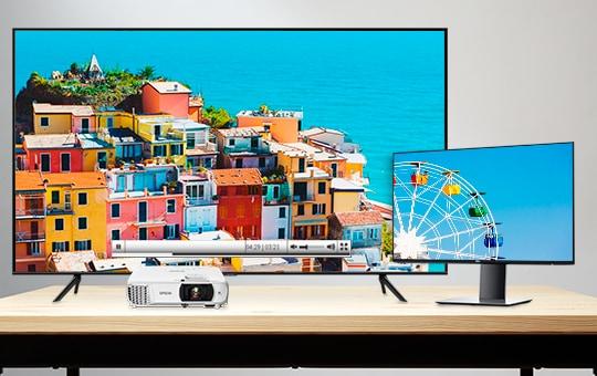 Monitors, TVs & Projectors