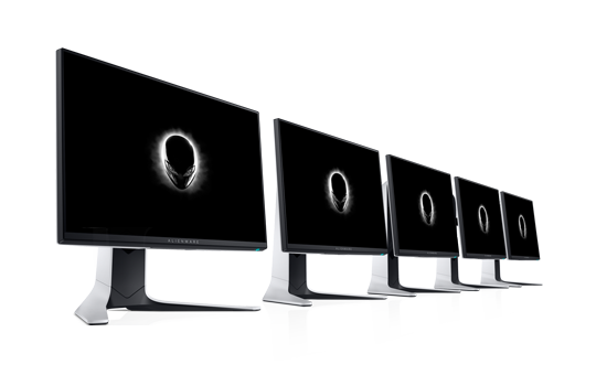 The new Alienware 25 inch gaming monitor is here.