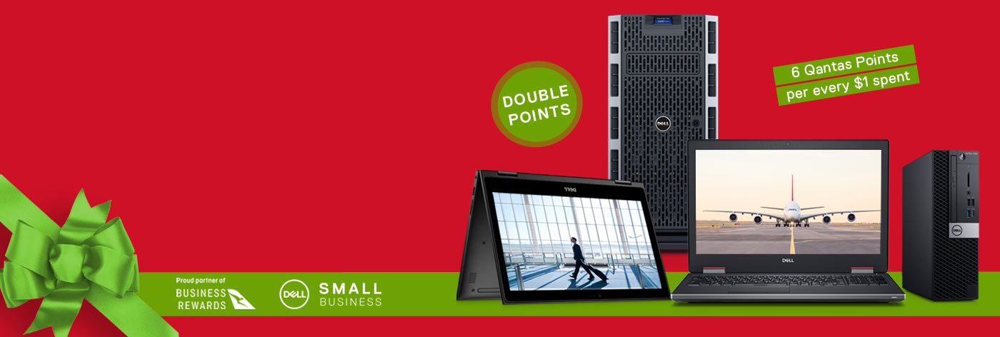 Earn double Qantas Points on selected systems & servers.