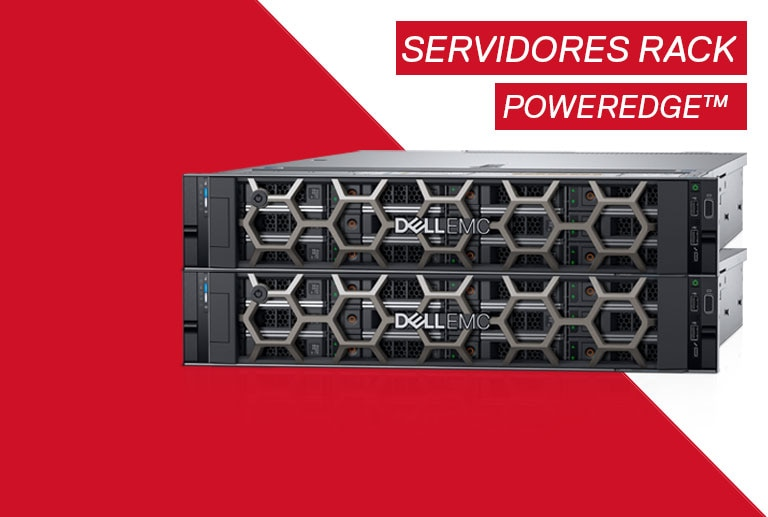 Otimiza seu datacenter com os servidores rack Dell PowerEdge™.