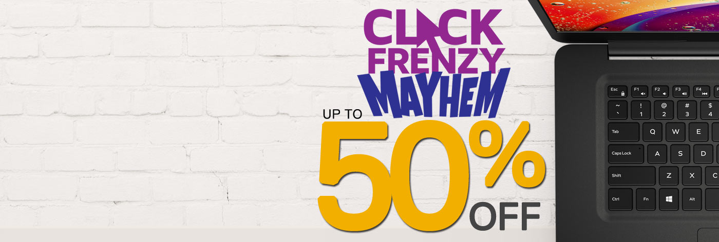 Click Frenzy Mayhem: Up to 50% off selected business laptops.