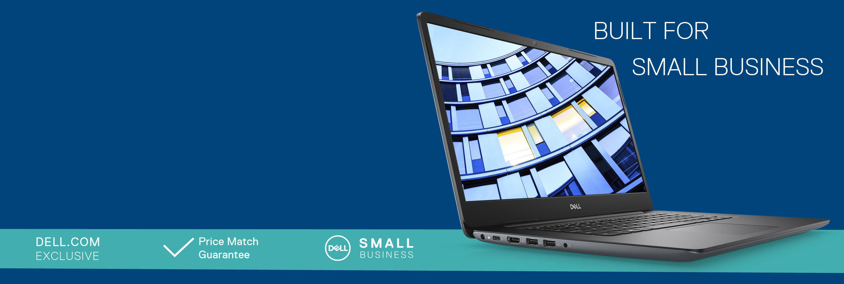 Built for Small Business: Up to 35% off selected laptops.