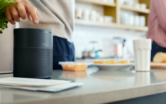 Small smart speaker. Big Bose sound.