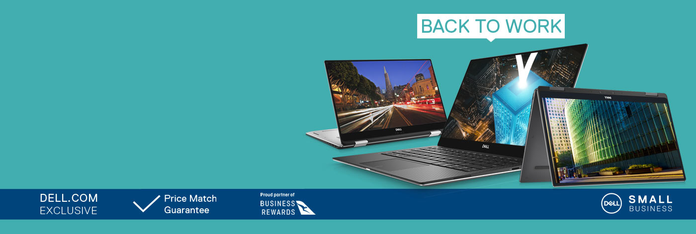 Back To Work Deals: Up to 20% off selected XPS business laptops.