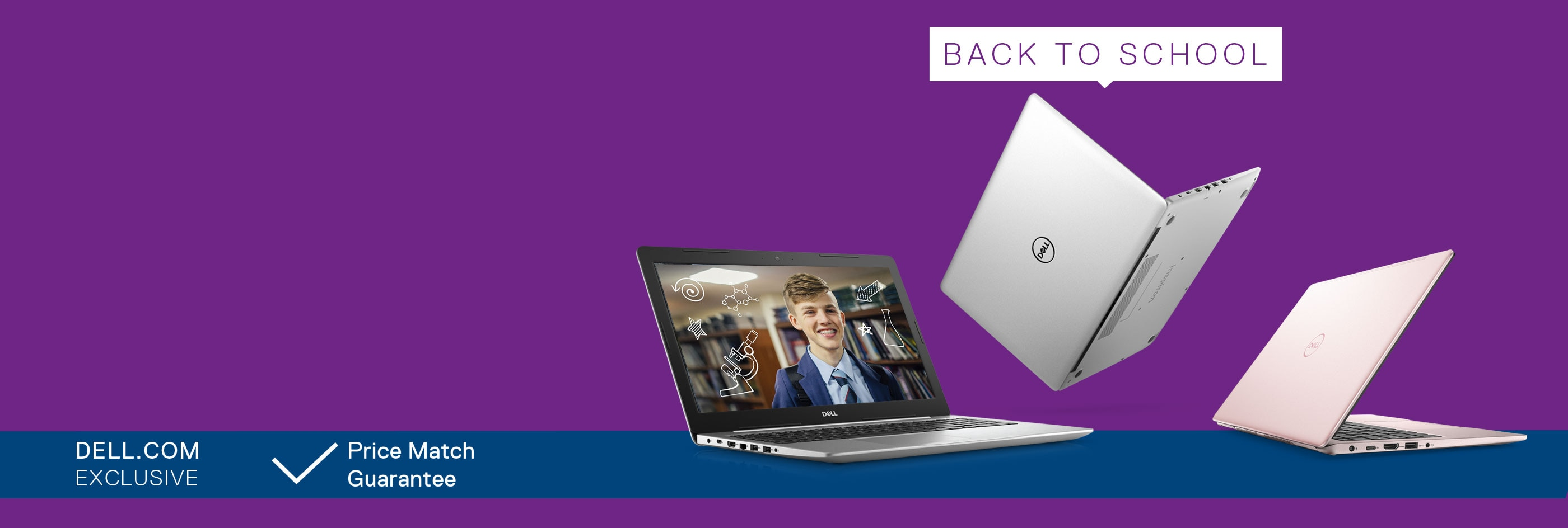 Back To School Deals: Up to 20% off selected XPS laptops.