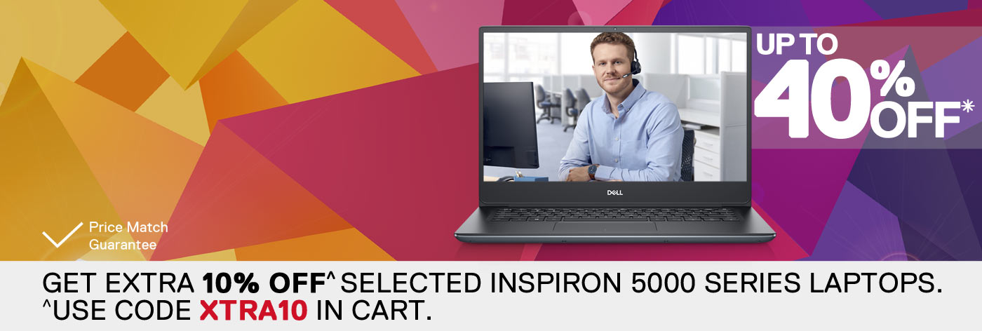 Up to 40% off selected Vostro laptops.