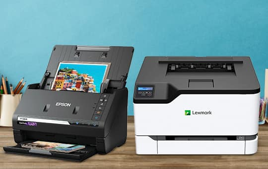 Printers, Scanners & Software