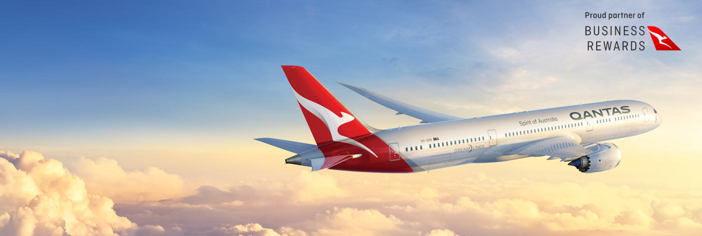 Reward your business with up to 20,000 bonus Qantas Points.