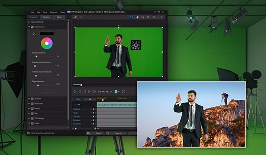 Chroma Key Editing