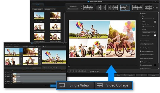 Dynamic Video Collages & MultiCam Editing