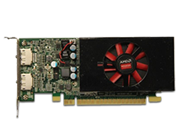 Dell 4GB AMD Radeon R7 450 (DP/DP) Graphic Card, low profile
