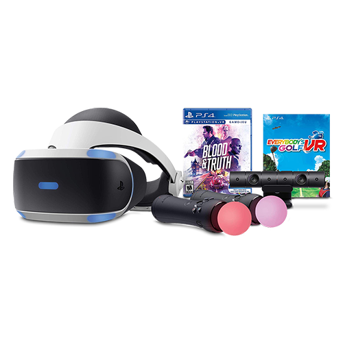 PlayStation VR bundle – Blood and Truth and Everybody's Golf