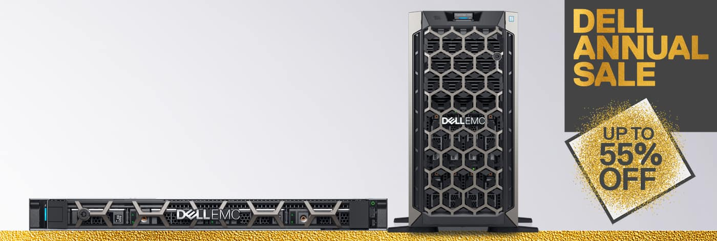 PowerEdge Servers: Get up to 55% off selected servers.