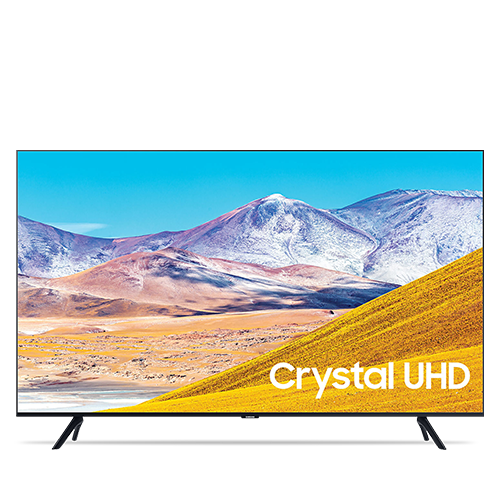 Samsung 75 inch TV 2020 LED 4K Crystal Ultra HD HDR Smart TV TU8000 Series UN75TU8000FXZA
