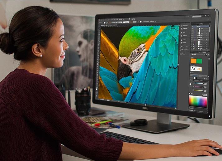 Dell UltraSharp 32 | UP3216Q - 寬闊清晰的畫質,呈現精美絕倫的細膩度。