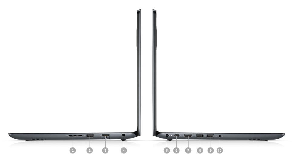 Vostro 15 5000 Laptop - Ports & Slots