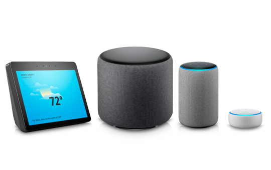 Introducing new Amazon Alexa products!