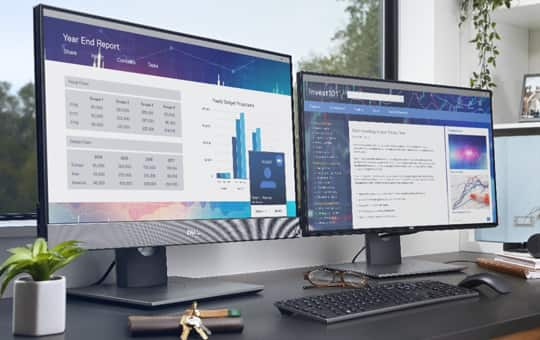 <h3> Dell monitors are #1 Worldwide for 6 consecutive years (2013 to 2019)!* </h3>