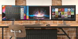 Dell monitors are #1 in Australia and New Zealand for 11 consecutive years (2007 to 2017)**.