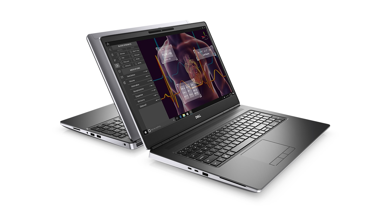 Meet the Precision 7000 Series Mobile Workstations (2020) 0:57