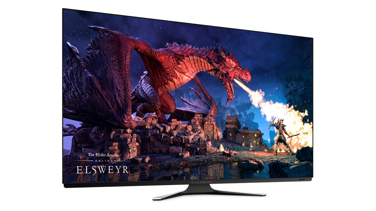 New Alienware 55 OLED Gaming Monitor  60