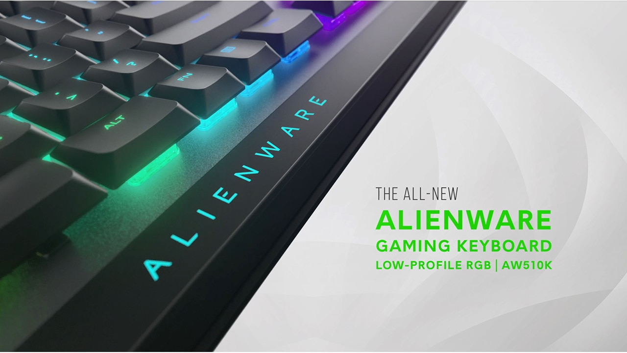 Alienware Low Profile RGB Mechanical Gaming Keyboard | AW510  0