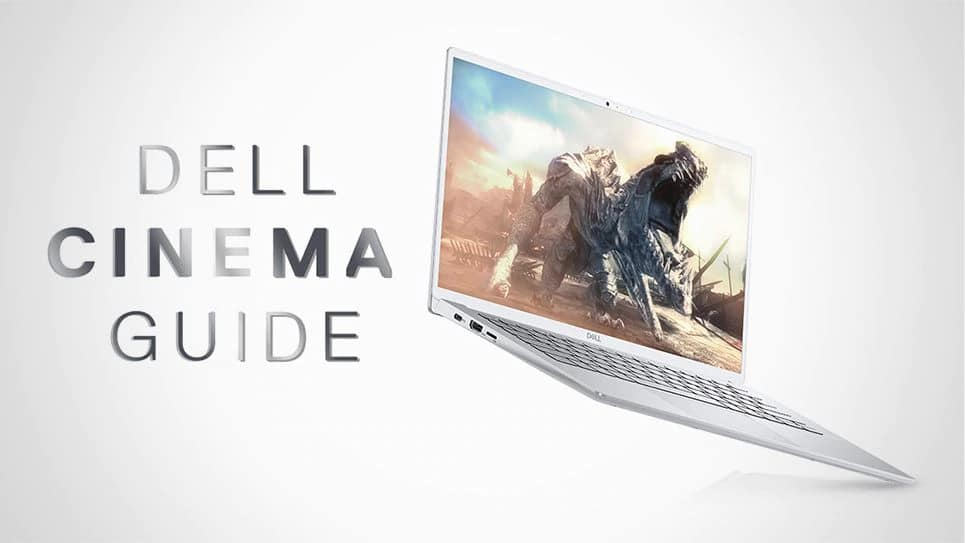 Video: Dell Cinema Guide 0:38