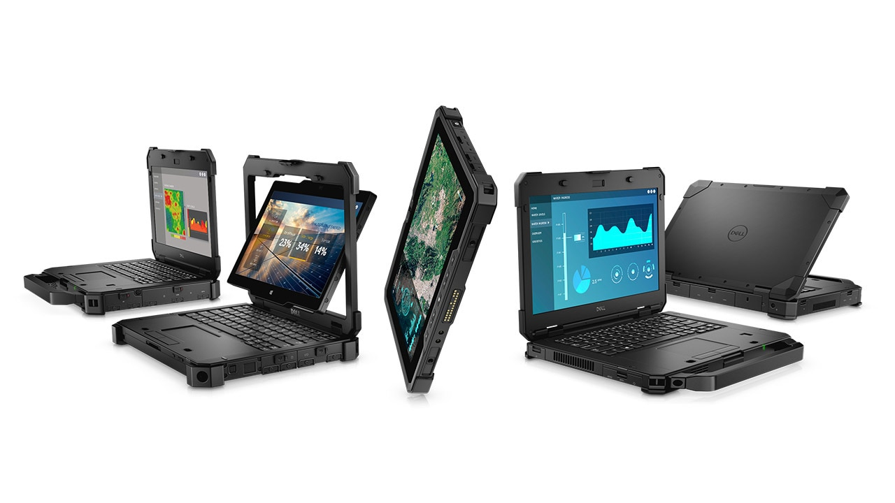 Família de monitores Dell Rugged(2018) 60