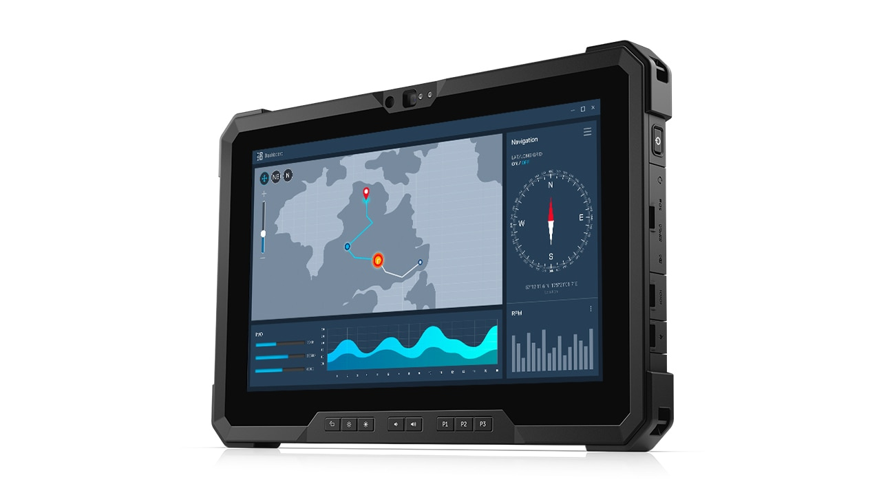 Productoverzicht Latitude 7220 Rugged Extreme Tablet (2019) 1:00