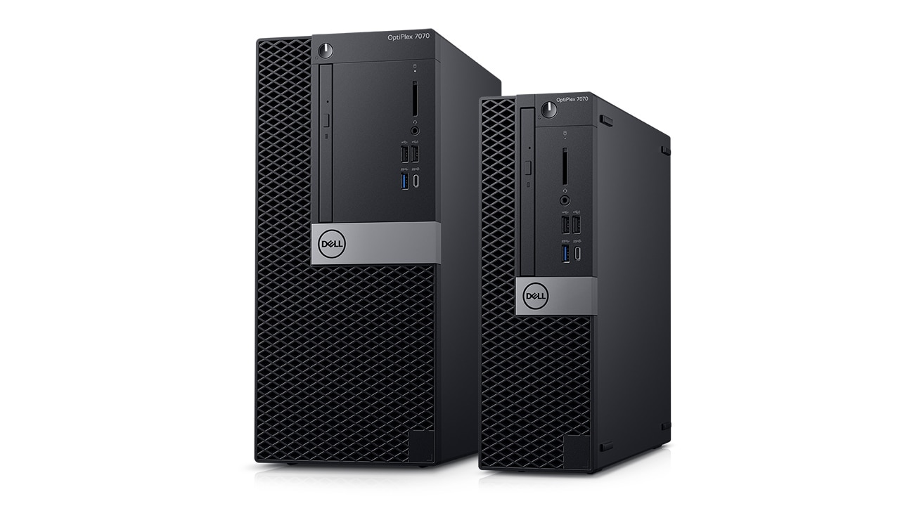OptiPlex Towers und Small Form Factor: 2019 – Produktübersicht