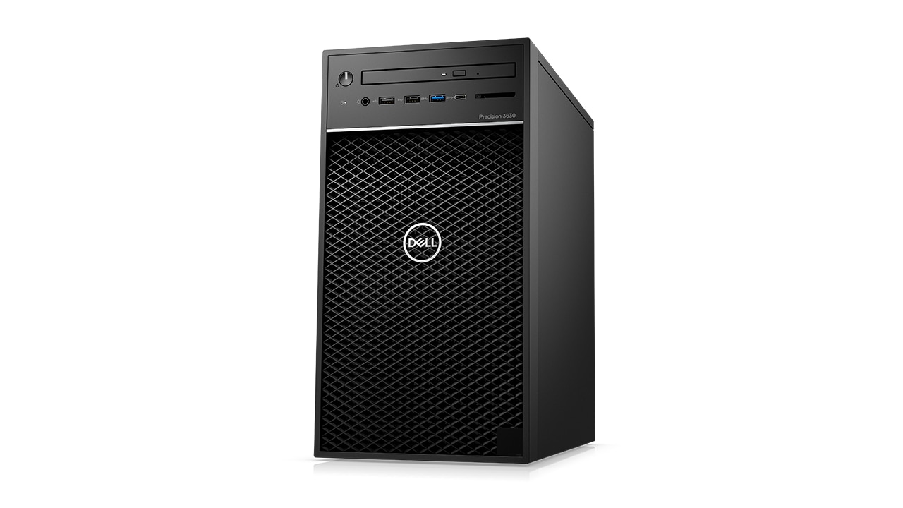 Productoverzicht Dell Precision 3630 tower (2019)