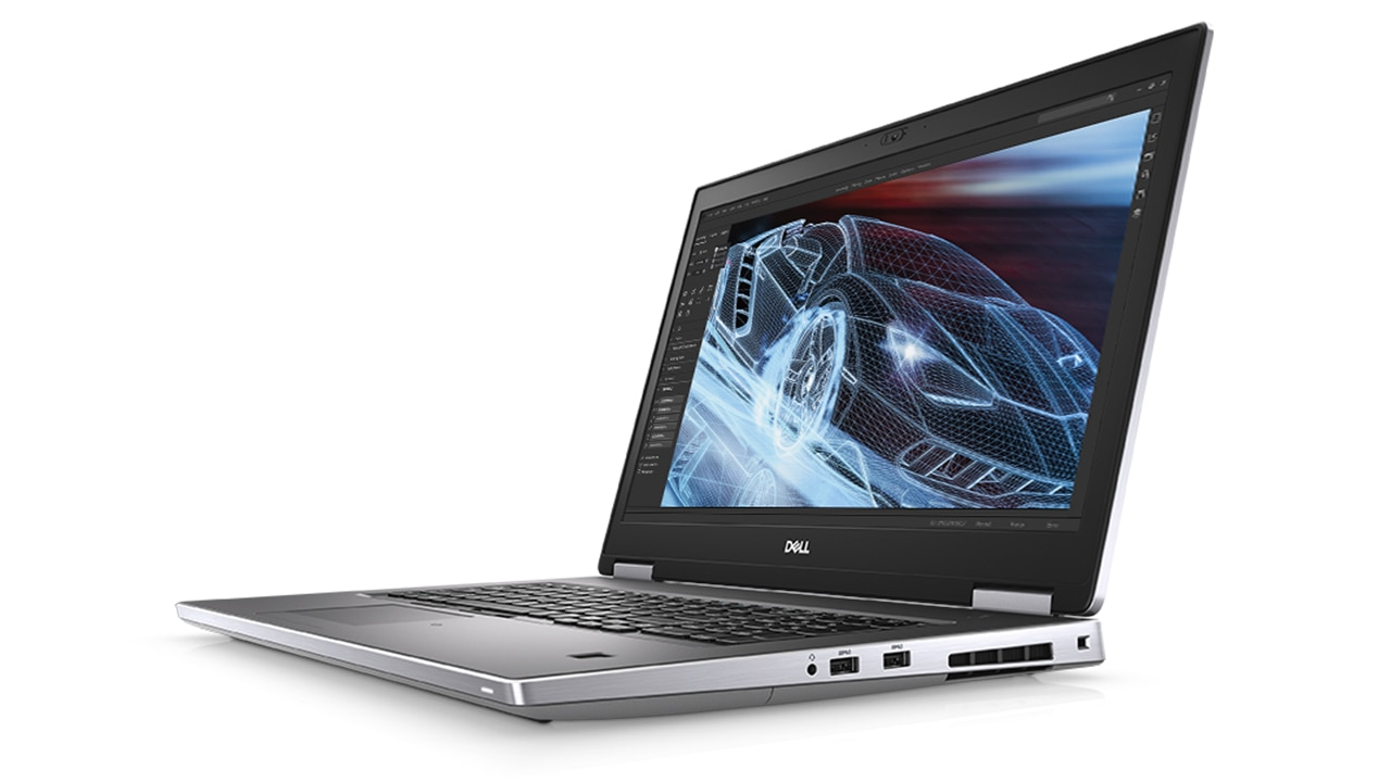 Video: Dell Precision 7740 Mobile Workstation  0:57