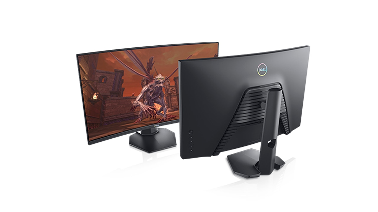 Dell 27 Curved Gaming Monitor S2721hgf Dell Ireland