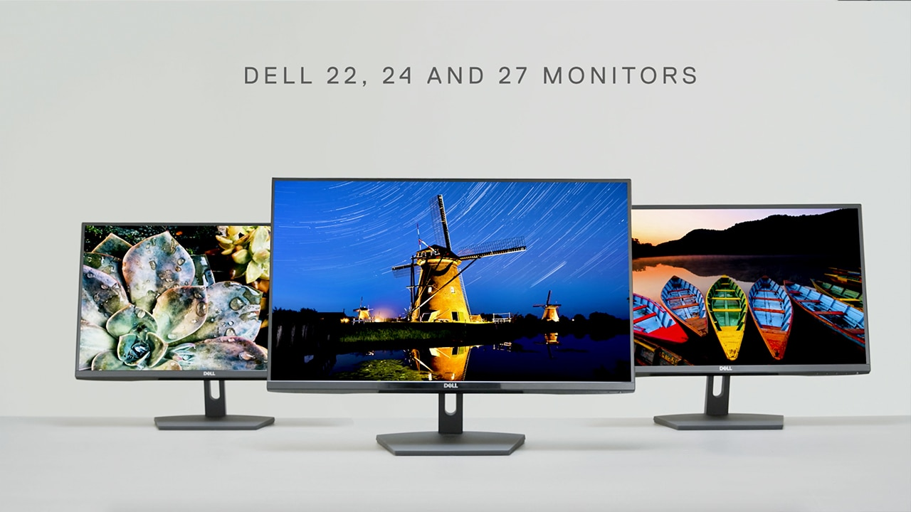 Video zur Dell SE Monitor-Produktfamilie 53