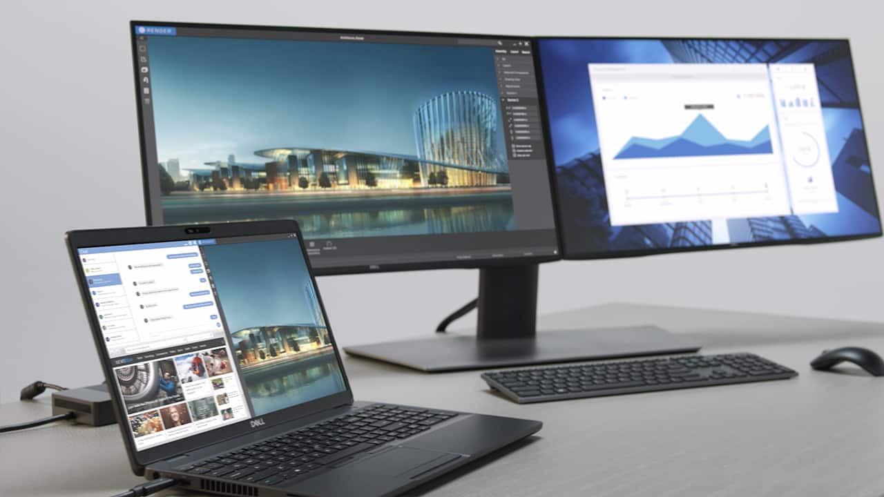 Video:	 Dell Precision 3540 Mobile Workstation Accessories (2019) 1:09
