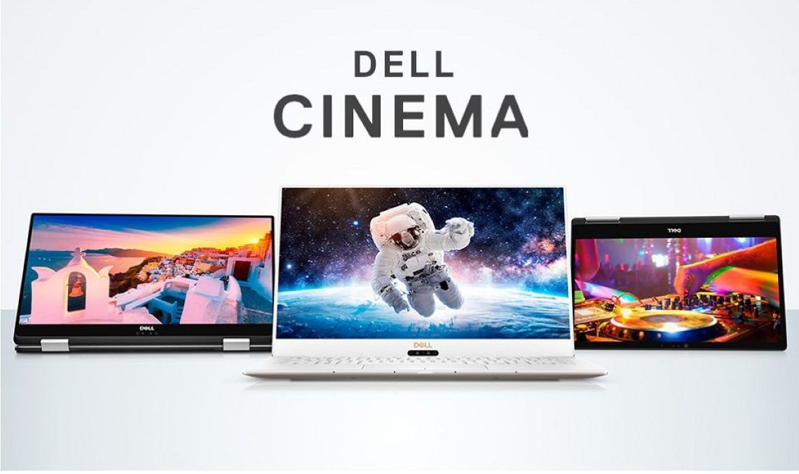 Video: Dell Cinema (CinemaColor / CinemaSound / CinemaStream) 1:13