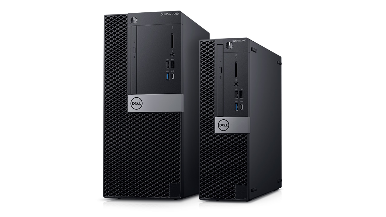 OptiPlex Tower und Small Form Factor 2018 – Produktübersicht