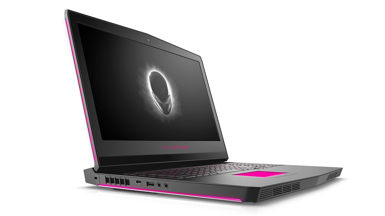 Alienware 17 Gaming Laptop: Up Close