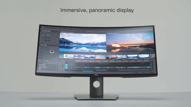 Dell UltraSharp 34 Curved USB-C Monitor – U3419W  60