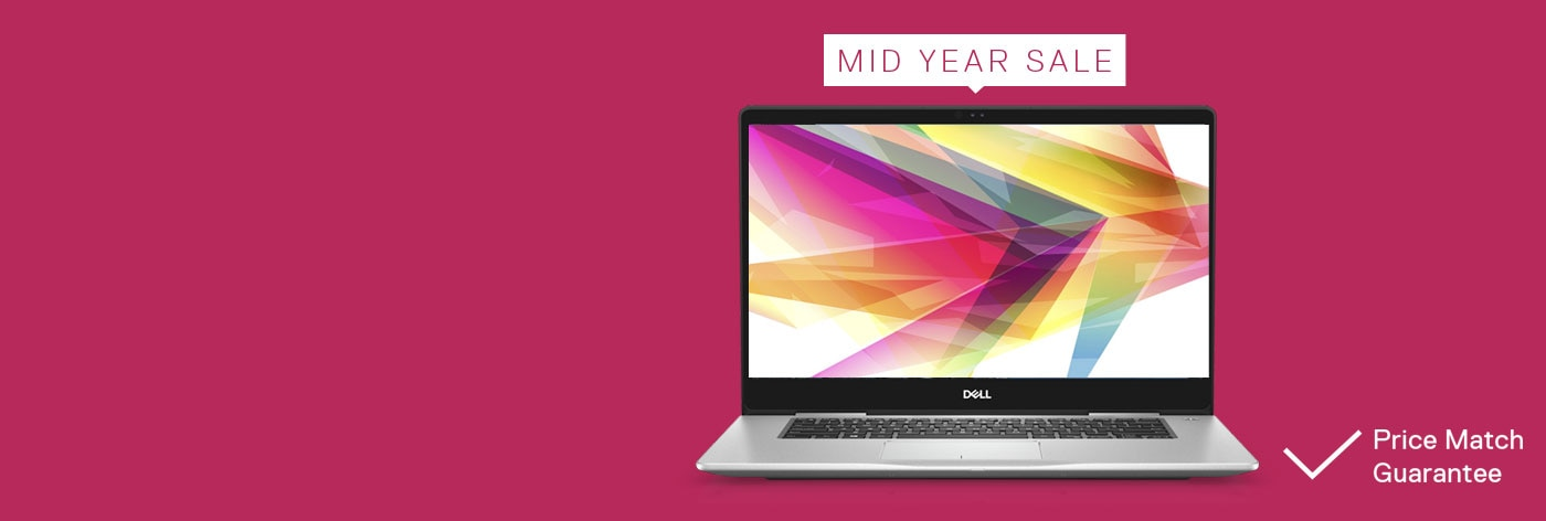 Mid Year Sale: Up to 50% off selected laptops.