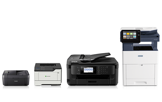 Save up to 40% on inkjet & laser printers.