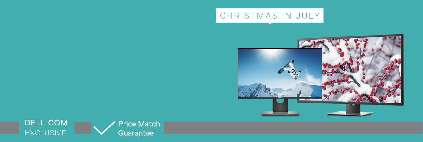 Get up to 25% off selected monitors.