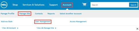 Navigate to User Management